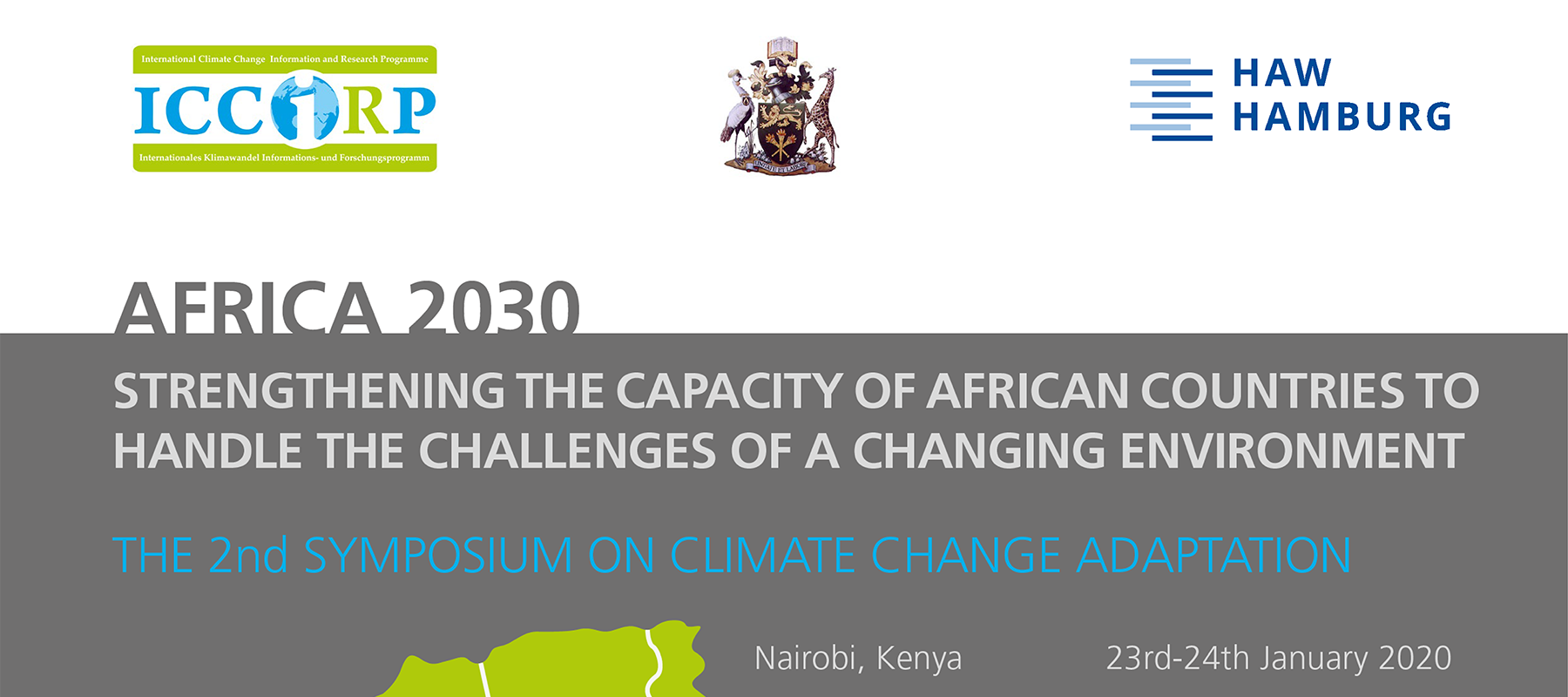 Banner for the africa2030 event