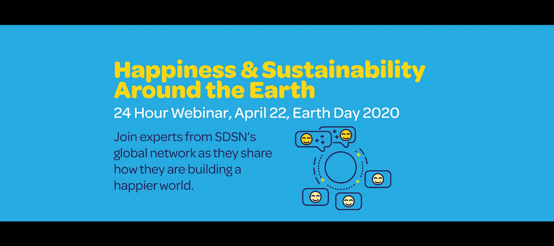 24 Hour Webinar: Happiness & Sustainability Around the Earth