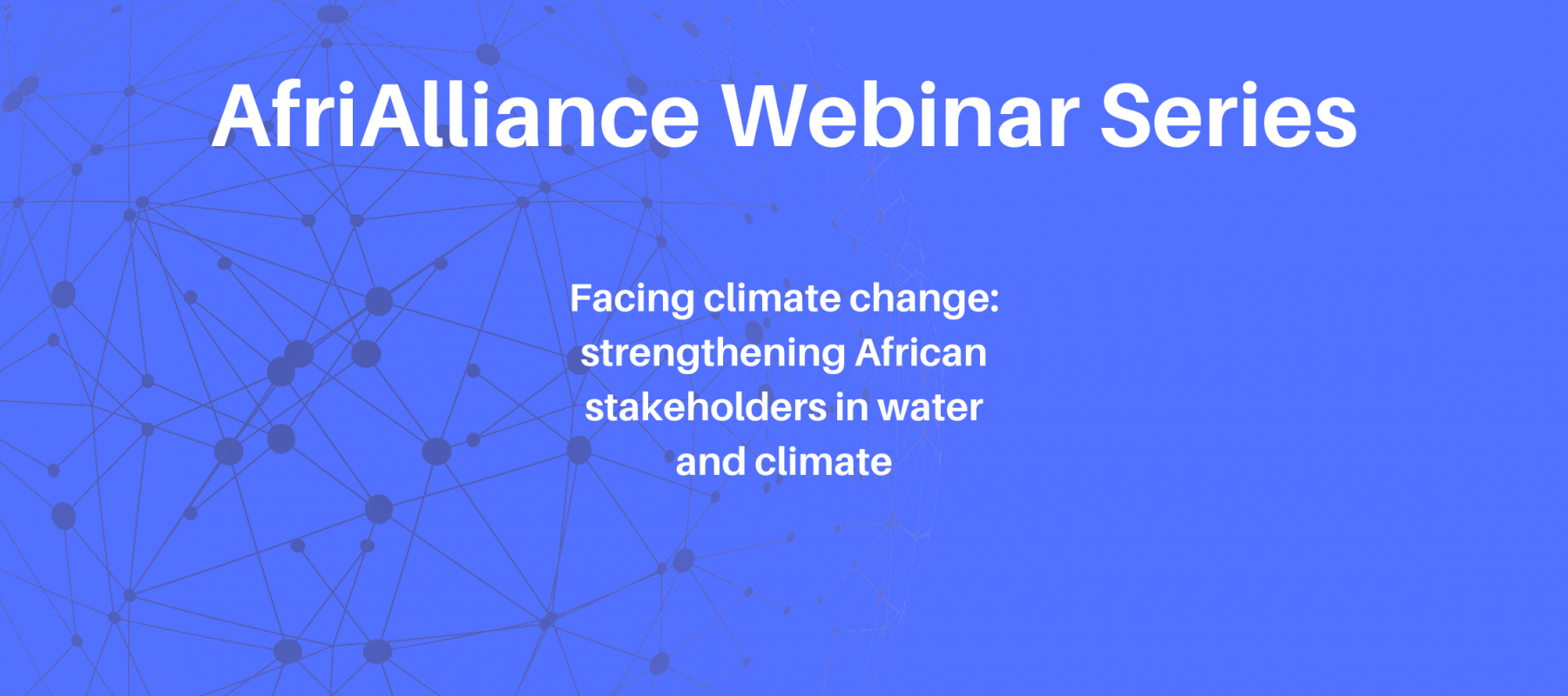 AfriAlliance Webinar Series