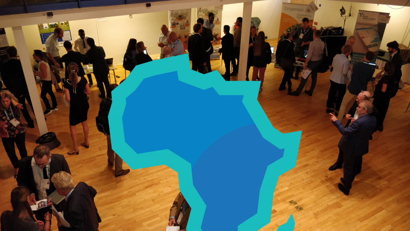Aerial view of the 1st AfriAlliance Innovation Bridge Event