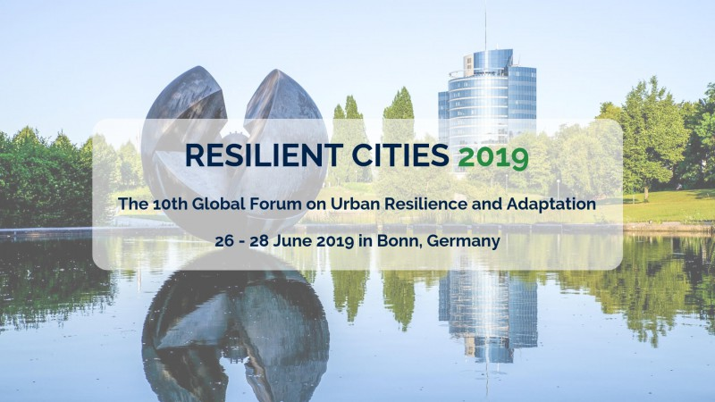Resilient Cities 2019 Banner