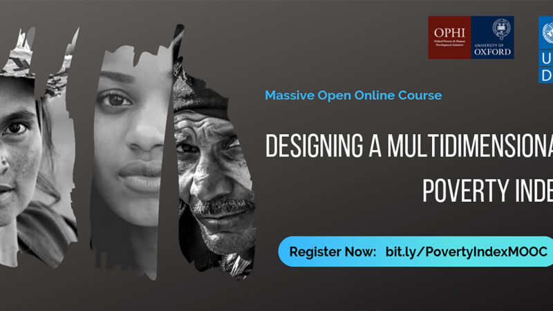 MOOC: Designing a Multidimensional Poverty Index
