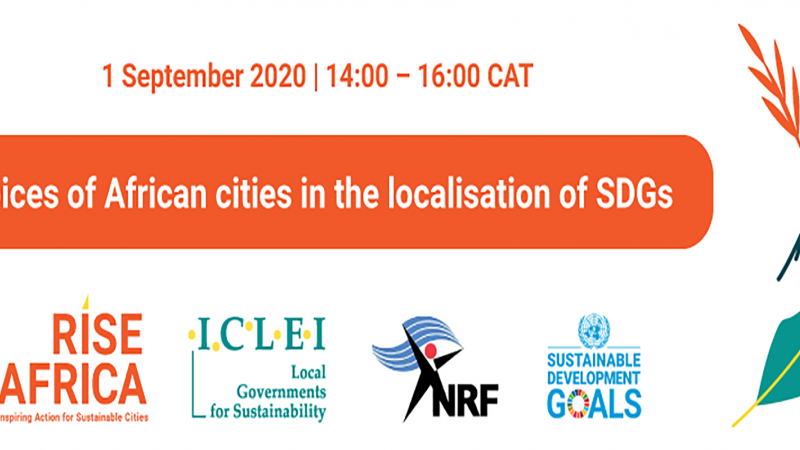 Webinar: Voices of African Cities in the Localisation of SDGs